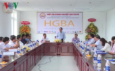Phát huy tối đa vai trò của Hiệp hội doanh nghiệp tỉnh Hậu Giang