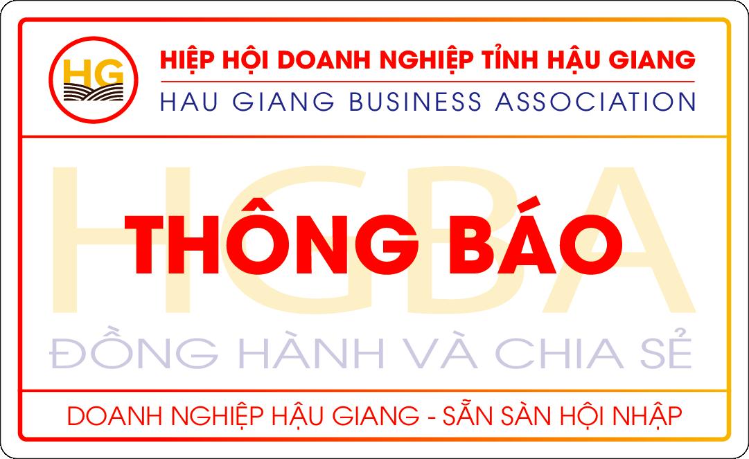 Thông báo về việc lấy ý kiến của Quý Doanh nghiệp để chuẩn bị đối thoại Doanh nghiệp quý II/2019