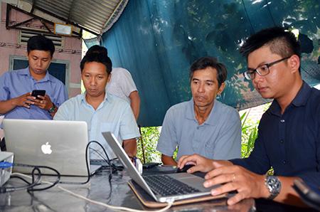 Tập huấn sử dụng phần mềm truy xuất nguồn gốc sản phẩm cho các hợp tác xã