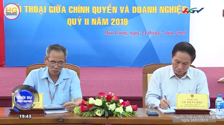 Đối thoại Doanh nghiệp quý II năm 2019