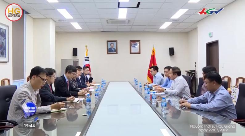 Chủ tịch UBND tỉnh làm việc với Tổng Lãnh sự Hàn Quốc tại TP. Hồ Chí Minh