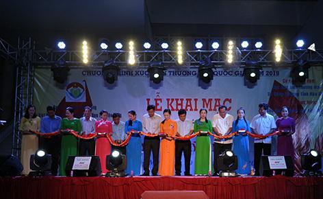 80 gian hàng tham gia phiên chợ hàng Việt về nông thôn