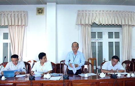 Họp Ban tổ chức cuộc thi Khởi nghiệp tỉnh Hậu Giang lần thứ II năm 2021 và công bố Kế hoạch tổ chức cuộc thi.