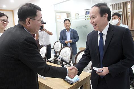 Thúc đẩy cơ hội hợp tác với doanh nghiệp Hàn Quốc