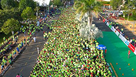 """Những hình ảnh khó quên của """"Mekong delta marathon"""" Hậu Giang 2020"""