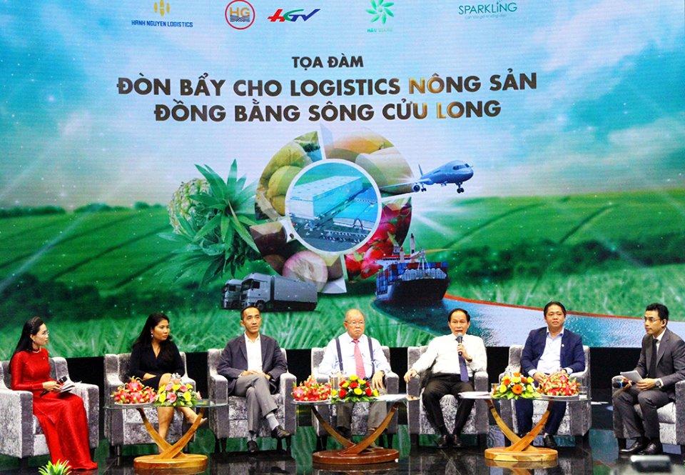 Ấn tượng từ Tọa đàm: Đòn bẩy cho logistics nông sản ĐBSCL